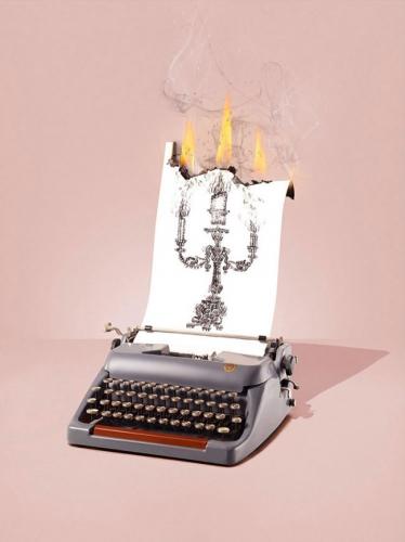 machine à écrire, des  textes, nouvelles